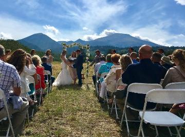 Mountain View Wedding at the Historic Pines Ranch