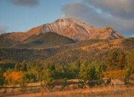 Mountain Views and Rustic Mountain Weddings ~ The Historic Pines Ranch